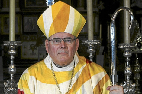 Roger Vangheluwe, cuando era obispo de Brujas. | Reuters