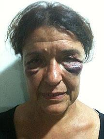 Carmen Roger, una de las activistas.
