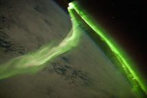 Una aurora austral observada dese la Estación Espacial | NASA, ISAL, ISS exp. 23 crew