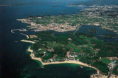 La Ría de Arousa es una de las razones que esgrime Vilagarcía para ser ciudad.