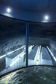 Parte de los servidores. Foto: Bahnhof.se