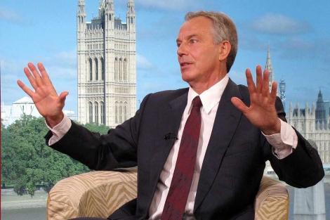 Tony Blair, durante una entrevista en la BBC. | Ap
