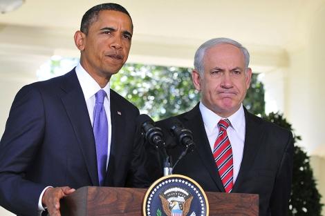 Netanyahu y Obama, este miércoles en la Casa Blanca. | Efe