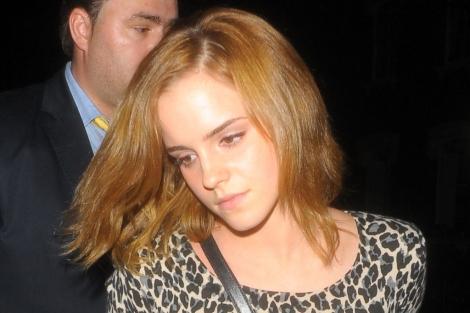 Emma Watson, en Londres. | Gtres