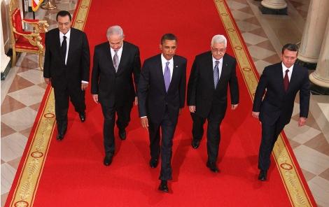 Los participantes en la cumbre, durante la cena previa en la Casa Blanca. | Efe