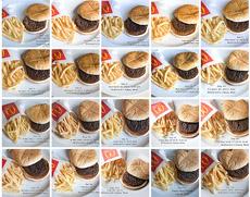 Imágenes del 'Happy Meal Project'.