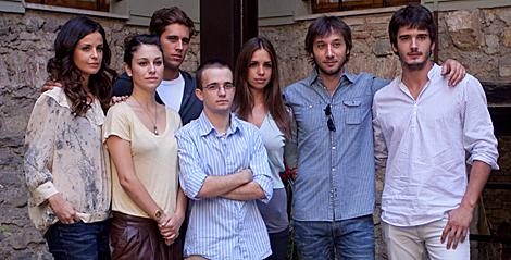 El reparto de la serie de Globomedia para Antena 3. (Foto: FesTVal)