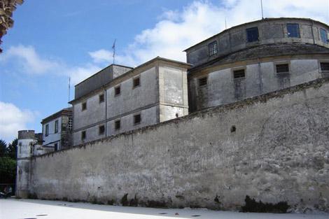 La antigua cárcel de Lugo, hoy sede de la Policía Local. | S.P.