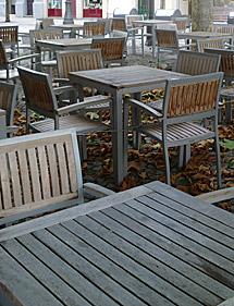 Muestra de terraza para la zona antigua.
