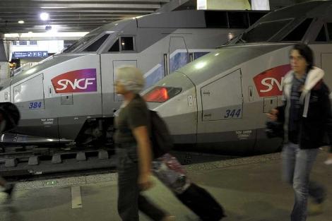 Estación de Montparnasse en París.   Efe