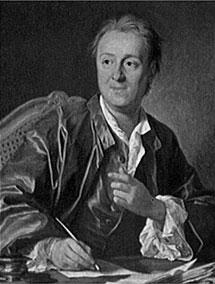 Un retrato de Diderot por Louis-Michel van Loo.