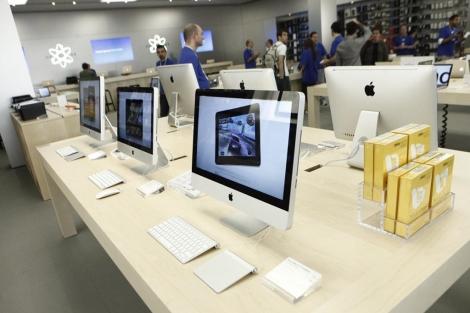 La Apple Store de Madrid. | Óscar Monzón