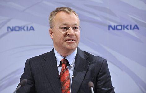 El nuevo consejero delegado de Nokia, Stephen Elop.   Afp
