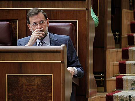 Mariano Rajoy, en el Congreso. | Alberto Cuéllar