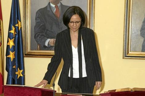 La directora del CIS, el día que juró su cargo. | CIS