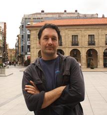 El autor, en Avilés. | Jose Navas