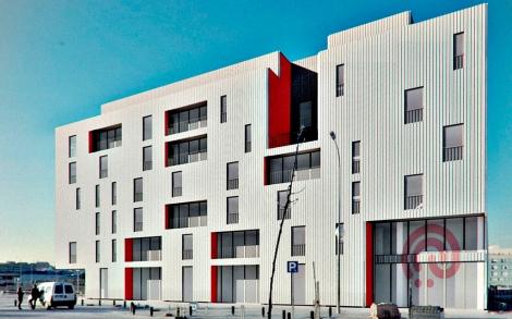 Prototipo de uno de los edificios que pretende construir.| Efe