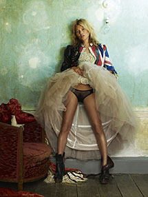 Kate Moss, British Vogue, Londres, 2005. | Mario Testino