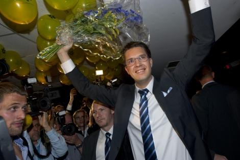 El líder ultraderechista sueco, Jimmie Akesson.   ELMUNDO.es
