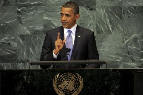 Obama, ante la Asamblea General de la ONU. | EFE