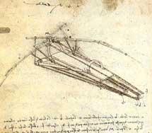 Dibujo de Da Vinci.