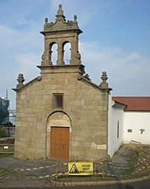 La capilla tiene riesgo de derrumbe. | M. N.