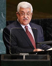 Abu Mazen, el sábado en la ONU. | Ap