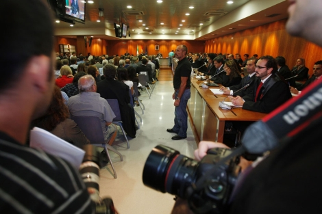 Interior de la sala donde se celebra el juicio del 'caso Malaya'. | Antonio Pastor