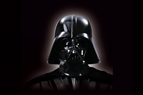 Darth Vader, en su vida en dos dimensiones. |