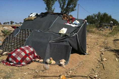 Campamento de los subsaharianos. | Médicos Sin Fronteras