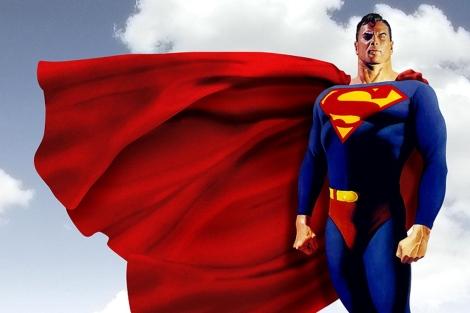 Superman, según la versión del dibujante Alex Ross. | DC Cómics