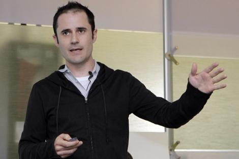 Evan Williams, durante una presentación el pasado mes de junio. | Ap