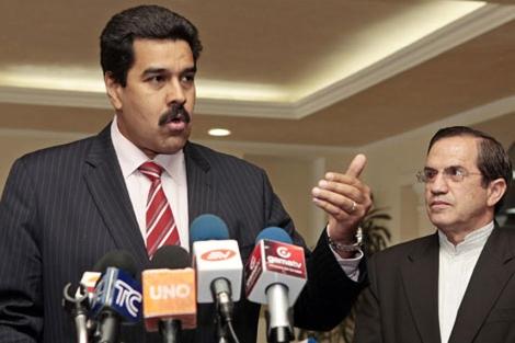 El canciller venezolano, Nicolás Maduro. | Efe