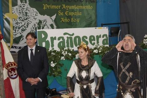 Una de las actividades de la Exaltación del Fuero de Brañosera. | M. Brágimo