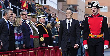El juez Grande-Marlaska, durante la ceremonia de condecoración. | Gonzalo Arroyo