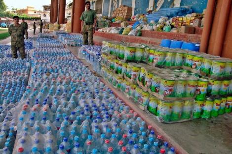 Cargamento de alimentos de la ONU | Arshad Arbab