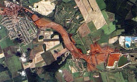 Fotografía aérea hecha por la NASA. | AP