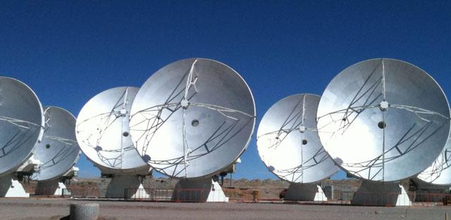 Las siete primeras antenas de ALMA | ESO/NAOJ/NRAO