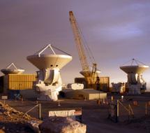 Antenas de ALMA fabricadas en Europa | ESO/NAOJ/NRAO