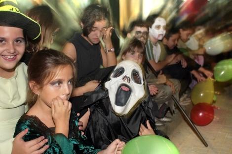 Fiesta de Halloween en un colegio sevillano.