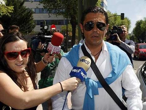 Antonio Puerta, tras salir de los juzgados el pasado mes de abril. | Sergio González
