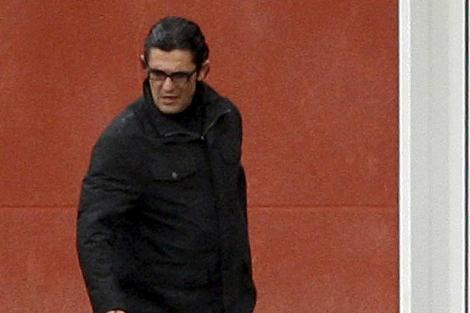 Antonio Puerta, cuando salió la cárcel de Estremera (Madrid).   Efe
