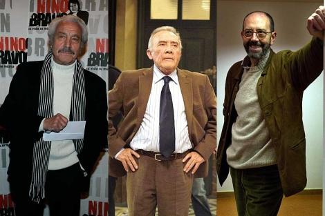 Manuel Zarzo, Fernando Guillén y Miguel Rellán. | D. Sinova / Telecinco / I. Andrés