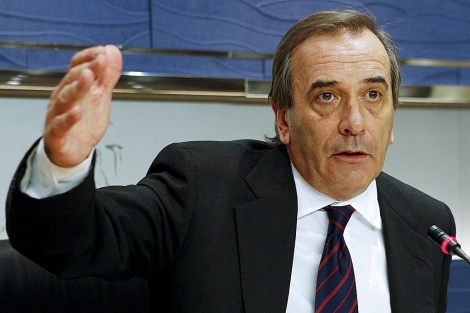 José Antonio Alonso, portavoz del PSOE en el Congreso.   Efe