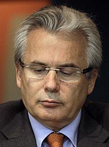 Garzón en una conferencia en Río de Janeiro (Brasil).   Felipe Dana