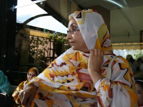 Aminatu Haidar, antes de su reaparición pública. | Erena Calvo