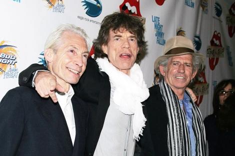 Mick Jagger, Charlie Watts y Keith Richards, en una imagen de archivo. | Gtres