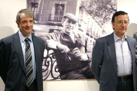 Joan Tarrida y Ramón García, durante la presentación