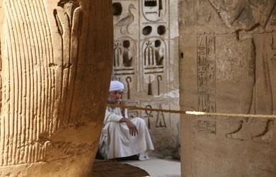 El ingenio arquitectónico del Egipto faraónico contra desastres naturales.   Efe