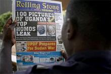 La portada del periódico.   AP